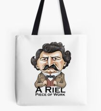 A Riel Piece of Work Tote Bag