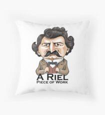 A Riel Piece of Work Throw Pillow