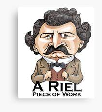 A Riel Piece of Work Metal Print