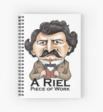 A Riel Piece of Work Spiral Notebook