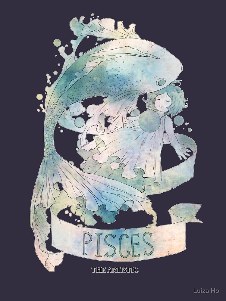 Pisces, The Artistic by teapotsandhats