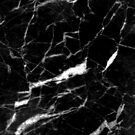abstract modern chic minimalist grey black marble by lfang77