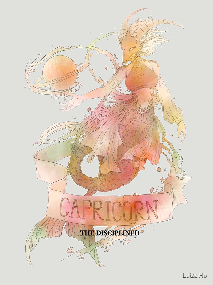 Capricorn, The Disciplined by teapotsandhats
