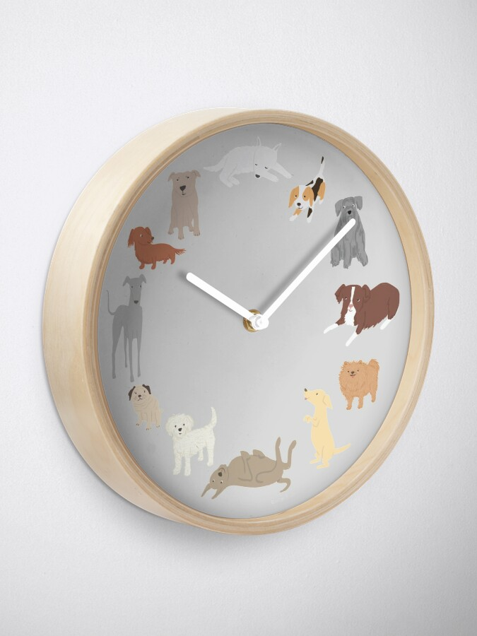 Alternate view of Bow-wow Hour Clock