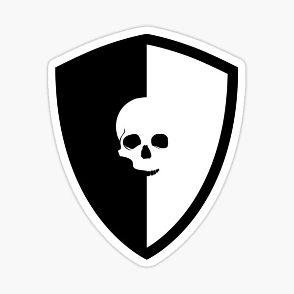 Death Cheaters Guild | D.C.G. Crest Sticker