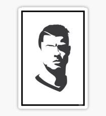 Cristiano Ronaldo Vector Portrait Sticker
