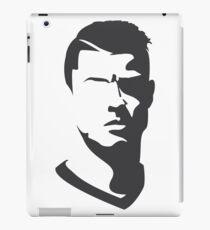 Cristiano Ronaldo Vector Portrait iPad Case/Skin