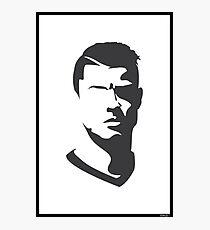 Cristiano Ronaldo Vector Portrait Photographic Print