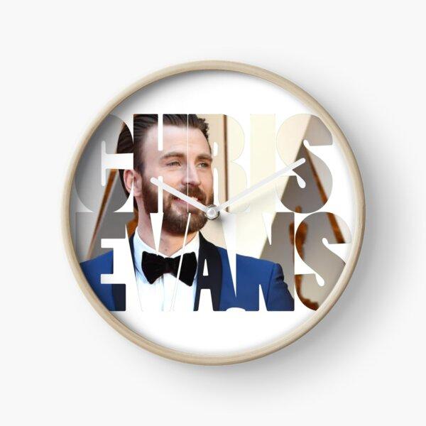 Chris Evans Clock