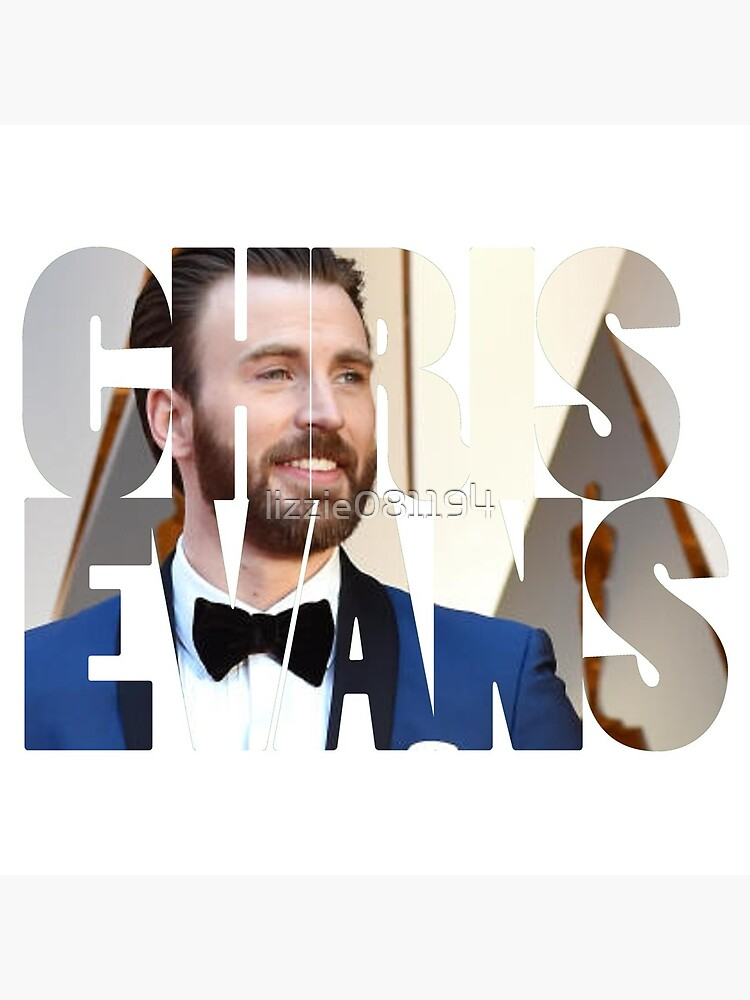 Chris Evans by lizzie081194