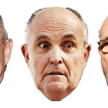 Rudy Giuliani whackadoodle 3 pack  by Thelittlelord