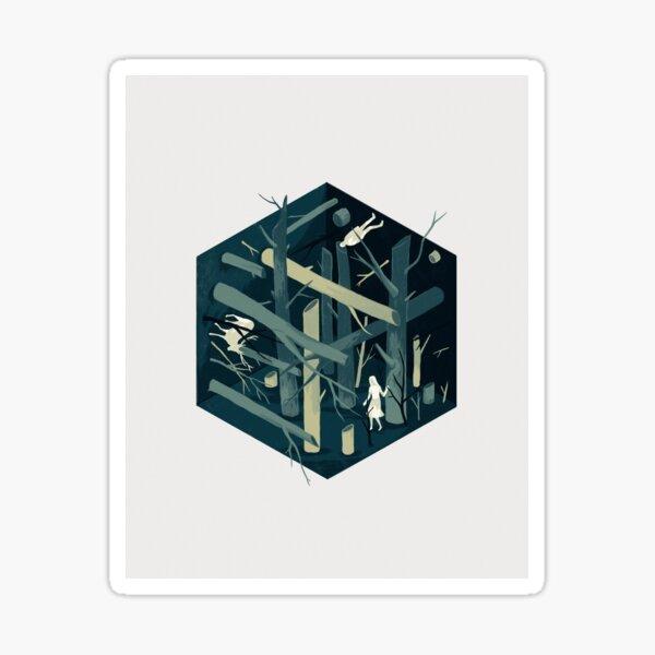 Cube 02 Sticker