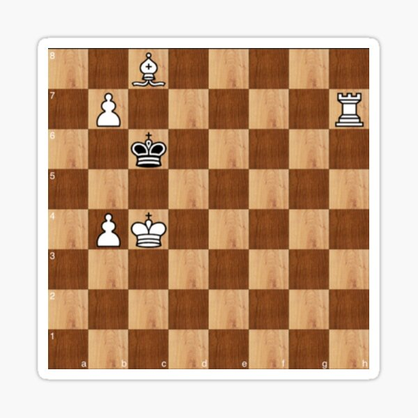 Game of Chess, #bishop, #capture, #castle, #check, checkmate, chess, chessboard, chessman Sticker