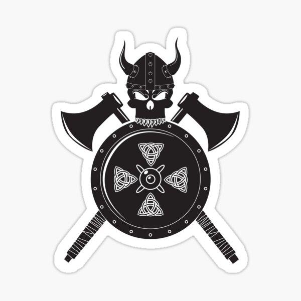 Viking War Banner Sticker