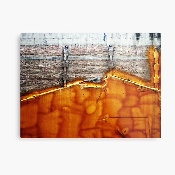 Apparent usability Metal Print