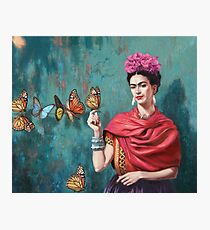 paint butterfly art Photographic Print
