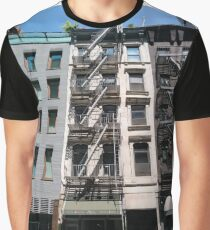 #Happiness #Building #Skyscraper #NewYork #Manhattan #Street #Pedestrians #Cars #Towers #morning #trees #subway #station #Spring #flowers #Brooklyn  Graphic T-Shirt