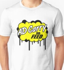 League of Legends: AD Carry or Feed T-Shirt