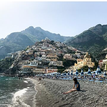 Positano Beach by umeimages