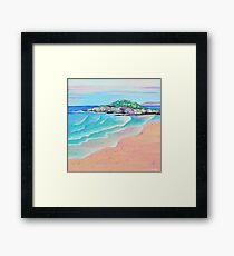 Fistral - Colourful Cornwall Series Framed Print