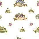 Schildkröten-Muster von jazzieart