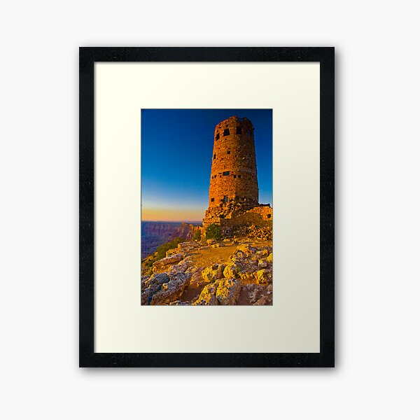 Grand Canyon East Entrance Tower Framed Art Print