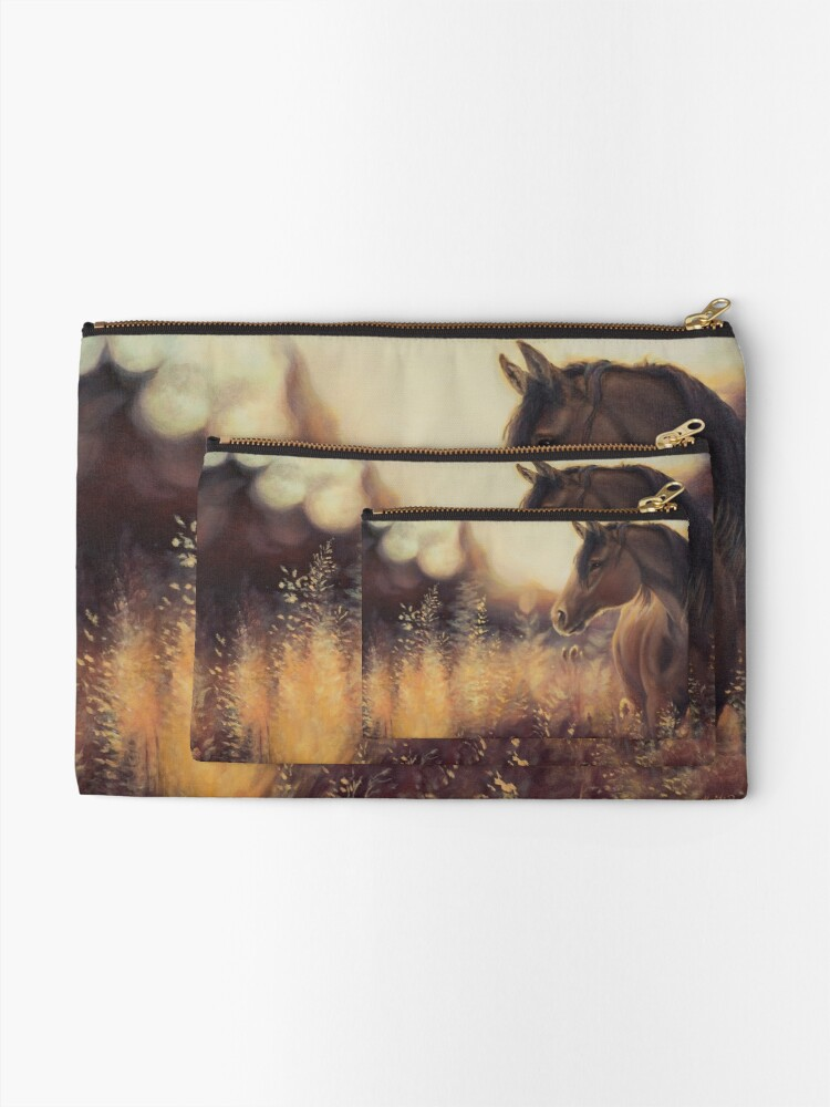 Alternate view of A Lovely Thought Zipper Pouch