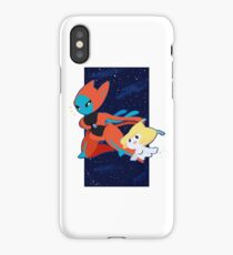 Pokemon - Jirachi and Deoxys iPhone Case/Skin