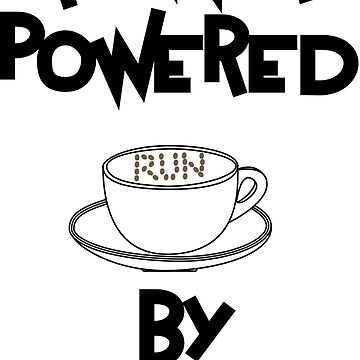 Runner powered by coffee by studioivito