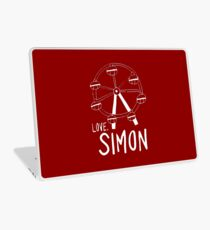 Love Simon Ferris Wheel Doodle Laptop Skin