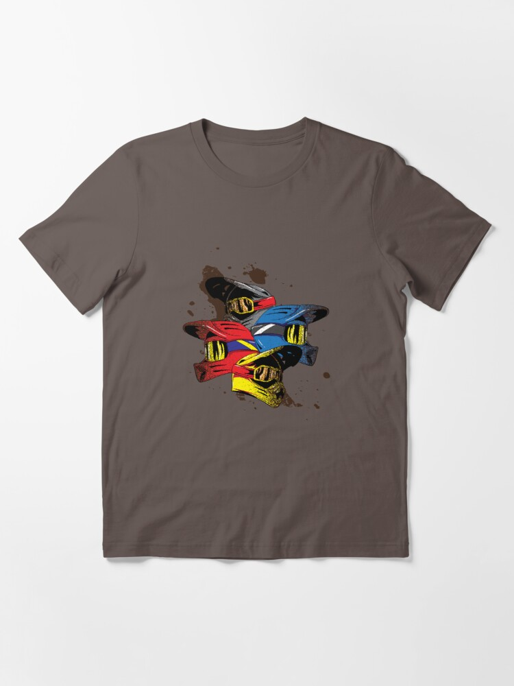 Alternate view of Motocross Rules - Vintage Motorcycle Gift Essential T-Shirt