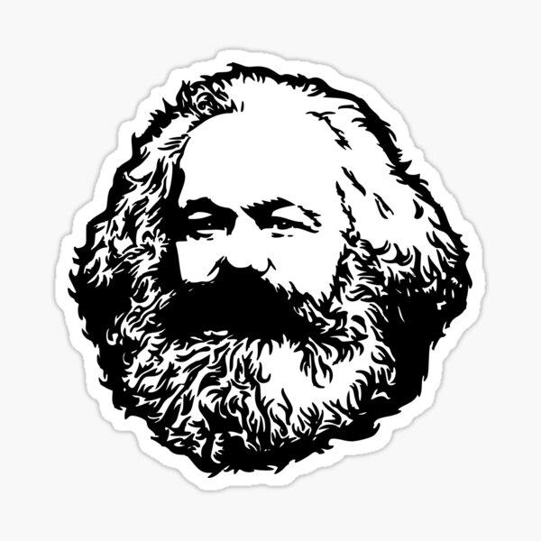 Karl Marx Pegatina
