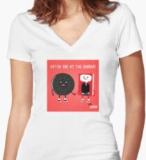 Love Simon Icon Women's Fitted V-Neck T-Shirt