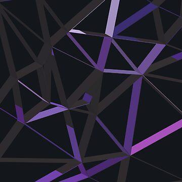 3D Futuristic GEO Lines XII by tamaya111