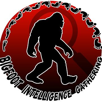 Bigfoot Intelligence Gathering by AlexzMercury