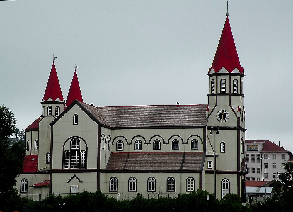 Iglesia de Puerto Varas -X Región de los Lagos . Chile by cieloverde