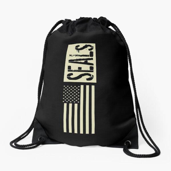 SEALs (Black Flag) Drawstring Bag