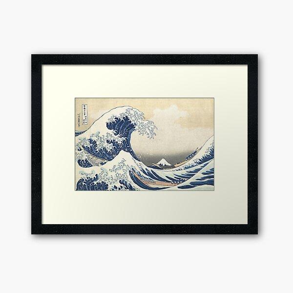 The Great Wave at Kanagawa by Katsushika Hokusai Framed Art Print