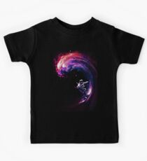 Space Surfing II Kids Tee