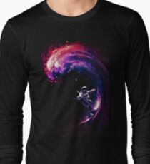 Space Surfing II Long Sleeve T-Shirt
