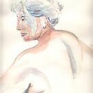 Life session nude 5 portrait by J-C Saint-Pô