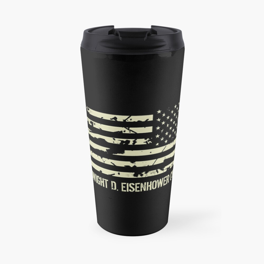 USS Dwight D. Eisenhower Travel Mug
