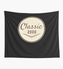 2000 Birthday Gift Vintage Classic 18th Birthday Present Wall Tapestry