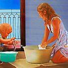 Cheerful Chores version 2 by DigitalandPhoto