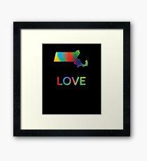 Massachusetts Love.   Framed Print