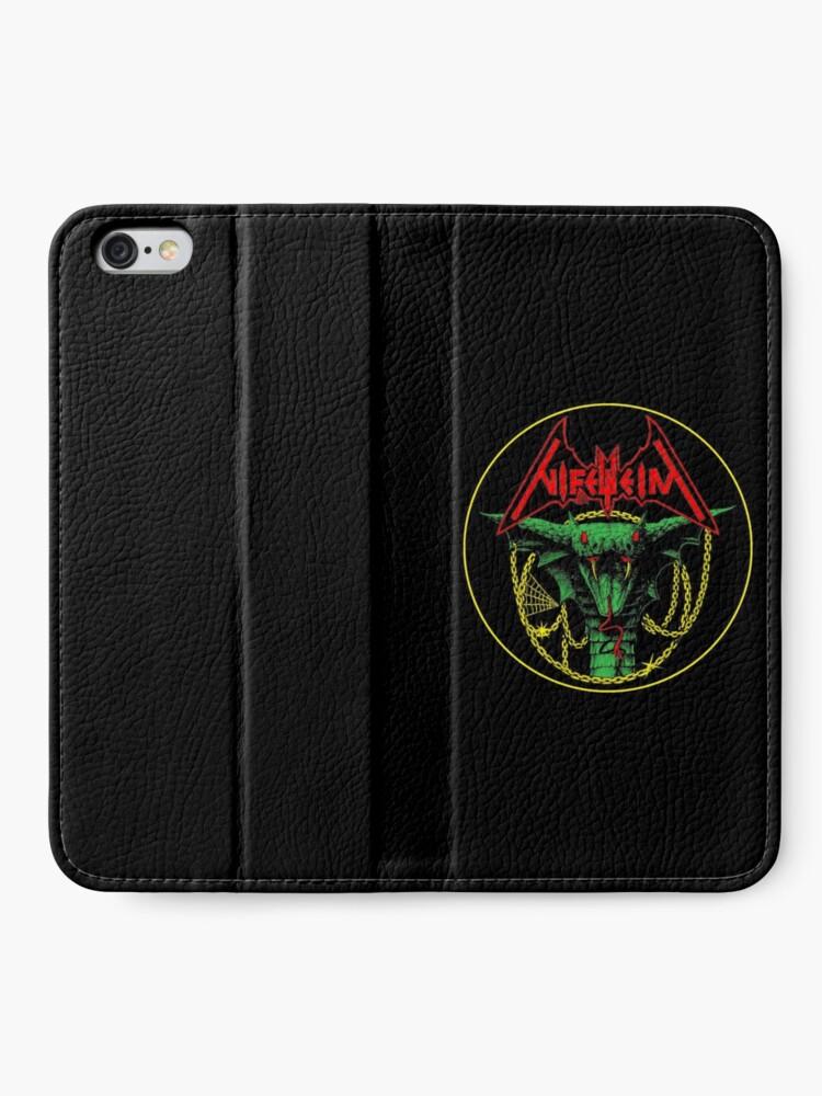 Alternate view of Nifelheim Satanatas Serpent iPhone Wallet