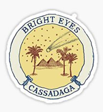 Cassadaga Album Cover Sticker