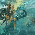 Mermaids at Play by TraciVanWagoner