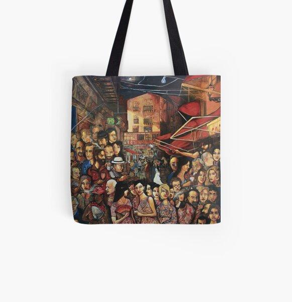 Mauro Di Girolamo - Vucciria#Tribute to Renato Guttuso  All Over Print Tote Bag