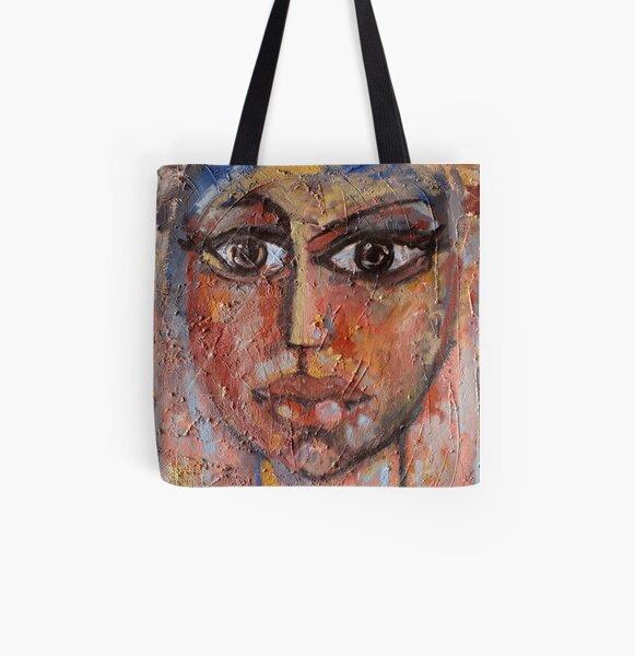 La bellezza nell'inquietudine - Beauty in restlessness All Over Print Tote Bag
